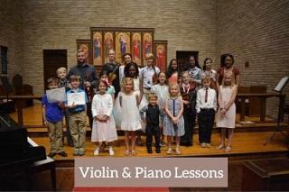 violin&piano lessons